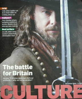 Culture magazine - John Simm cover (9 November 2008)