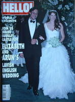 <!--2007-03-13-->Hello! magazine - Elizabeth Hurley and Arun Nayar wedding