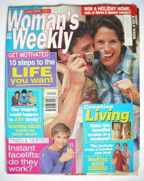 <!--1997-04-22-->Woman's Weekly magazine (22 April 1997)