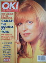 <!--1997-04-25-->OK! magazine - Sarah Ferguson cover (25 April 1997 - Issue