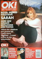 <!--1997-05-02-->OK! magazine - Sarah Ferguson cover (2 May 1997 - Issue 57