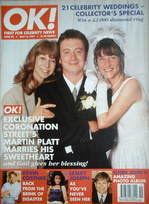 <!--1997-05-16-->OK! magazine - Sean Wilson wedding cover (16 May 1997 - Is