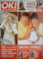 <!--1997-06-27-->OK! magazine - Brian Conley / Tara Newley cover (27 June 1