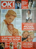 <!--1997-07-18-->OK! magazine - Gena Lee Nolin cover (18 July 1997 - Issue