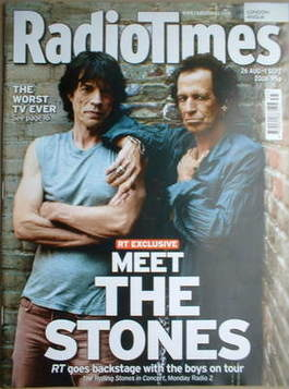 <!--2006-08-26-->Radio Times magazine - Mick Jagger and Keith Richards cove
