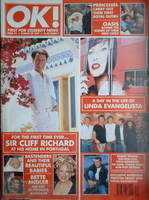 <!--1997-08-29-->OK! magazine - Cliff Richard cover (29 August 1997 - Issue