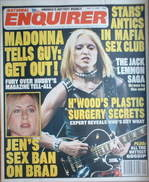 <!--2001-07-17-->National Enquirer magazine - Madonna cover (17 July 2001)
