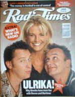 <!--1996-09-21-->Radio Times magazine - Ulrika Jonsson, Vic Reeves, Bob Mor