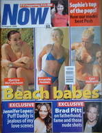 Now magazine - Beach babes cover (30 August 2000)