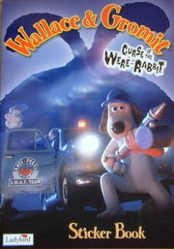 Wallace and Gromit Curse Of The Were Rabbit Sticker Book