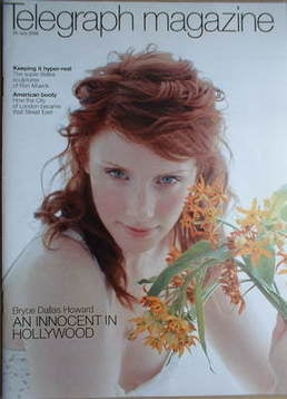 <!--2006-07-29-->Telegraph magazine - Bryce Dallas Howard cover (29 July 20