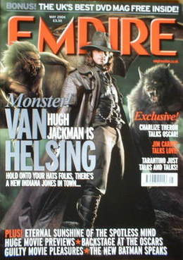 <!--2004-05-->Empire magazine - Hugh Jackman cover (May 2004 - Issue 179)