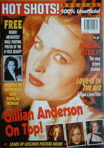 Hot Shots magazine - Gillian Anderson (1997)