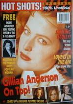 Hot Shots magazine - Gillian Anderson (1997)