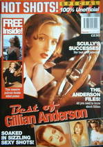 Hot Shots magazine - Gillian Anderson cover (1997)