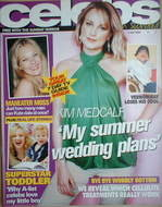 Celebs magazine - Kim Medcalf cover (4 July 2004)