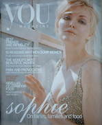 <!--2004-10-10-->You magazine - Sophie Dahl cover (10 October 2004)