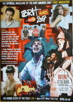 Brit Awards magazine 2007