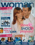 <!--2005-04-18-->Woman magazine - Kate Ford & Simon Gregson cover (18 April