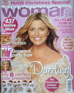 <!--2005-12-12-->Woman magazine - Tina Hobley cover (12 December 2005)