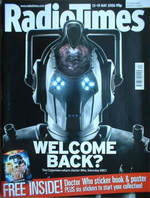 <!--2006-05-13-->Radio Times magazine - Doctor Who Cybermen cover (13-19 Ma