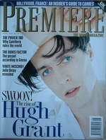 Premiere magazine - Hugh Grant cover (June 1994)