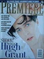 Premiere magazine - Hugh Grant cover (June 1994)