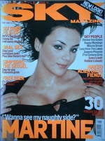 <!--1999-05-->Sky magazine - Martine McCutcheon cover (May 1999)