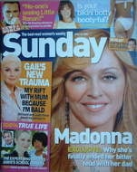 <!--2006-06-18-->Sunday magazine - 18 June 2006 - Madonna cover