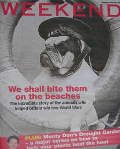 Weekend magazine - Dogs of War cover (27 May 2006)