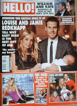<!--2009-01-06-->Hello! magazine - Louise Redknapp and Jamie Redknapp and b