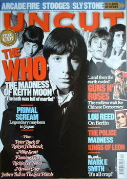 <!--2007-04-->Uncut magazine - The Who cover (April 2007)