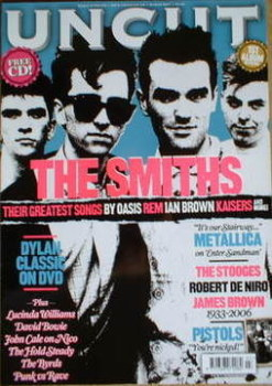 Uncut magazine - The Smiths cover (March 2007)