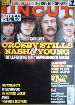<!--2008-07-->Uncut magazine - Crosby Stills Nash & Young cover (July 2008)