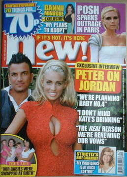 <!--2007-10-22-->New magazine - 22 October 2007 - Katie Price and Peter And