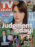 TV Quick magazine - Kate Ford cover (31 March-6 April 2007)