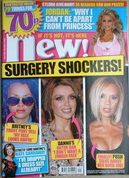 <!--2007-11-05-->New magazine - 5 November 2007 - Surgery Shockers! cover
