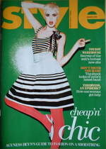 <!--2008-03-09-->Style magazine - Agyness Deyn cover (9 March 2008)
