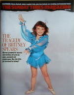 <!--2008-03-09-->The Sunday Times magazine - Britney Spears cover (9 March