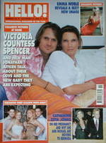 <!--2002-12-24-->Hello! magazine - Victoria Spencer cover (24 December 2002