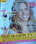 Sky TV magazine - January 2007 - Jennifer Aniston cover
