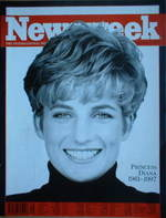 Newsweek magazine - Princess Diana cover (8 September 1997)