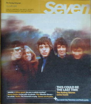 Seven magazine - The Rolling Stones cover (13 August 2006)
