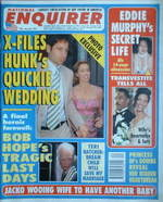 National Enquirer magazine - David Duchovny cover (20 May 1997)