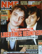<!--2007-04-21-->NME magazine - Pete Doherty & Carl Barat cover (21 April 2