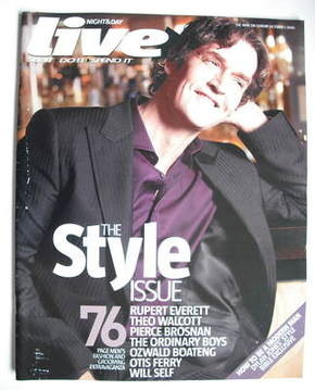 <!--2006-10-01-->Live magazine - Rupert Everett cover (1 October 2006)