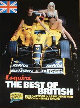 Esquire Calendar 1999