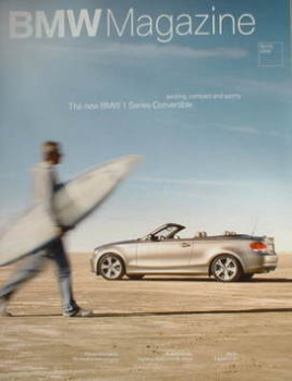 BMW magazine - Spring 2008 - BMW 1 Series Convertible cover