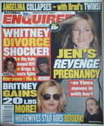 <!--2006-01-30-->National Enquirer magazine - Jennifer Aniston cover (30 Ja