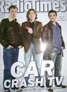<!--2007-01-27-->Radio Times magazine - Jeremy Clarkson, James May, Richard